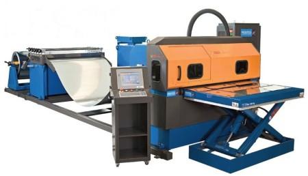 Coillaserschneidanlage ISEO Laser: Laserschneiden vom Coil bei dünnen Blechen