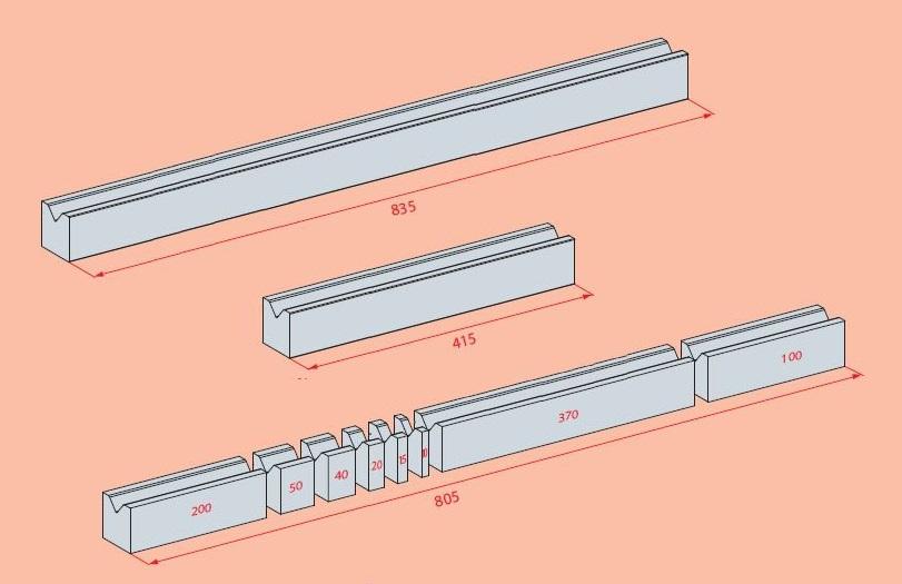 Amada Abkantwerkzeuge Teilung Unterwerkzeuge