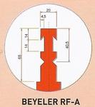 Werkzeugaufnahme Beyeler RF-A