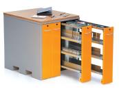 Werkzeugschränke für Abkantwerkzeuge und Stanzwerkzeuge