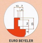 Werkzeugaufnahme Beyeler-Typ Euro
